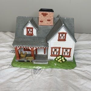 Partylite Country Farm House candle holder